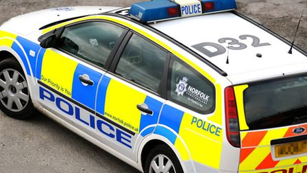 Police are on the scene after a crash on the A1101 at the junction with Lakes Eng inWelney.