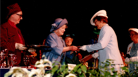 Alice Calaby and the Queen Mother