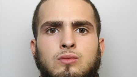 Joshua Campos has been jailed after his arrest last year