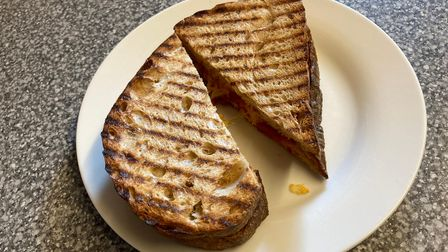 Victor Victoria toasted sandwich