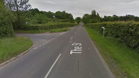 A cattle lorry loading on a narrow section of Mattishall Road in East Tuddenham has caused traffic to build up and busses...