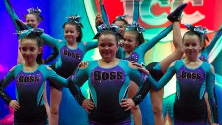 Members of Boss Elite at a performance