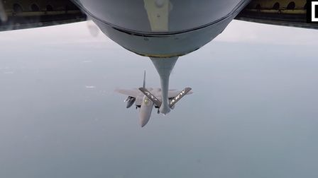RAF Mildenhall is taking part in joint training exercise 'Baltic Trident' this week.