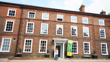 Manson House in Bury St Edmunds which is being sold by RABI