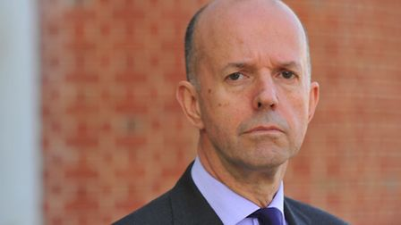 Michael Scott, new chief executive of Norfolk and Suffolk NHS Foundation Trust . Photo: Steve Adams