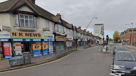 Two teenagers are in hospital with stab injuries following a large fight on Monday afternoon in Chadwell Heath.