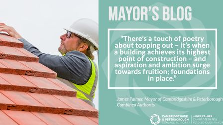 Mayor James Palmer - in a message from one of his tweets - remains confident the combined authority's affordable housing...