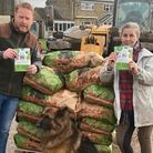 Potato donation from John Barnett of Soham fights food waste and helps families in need during the pandemic