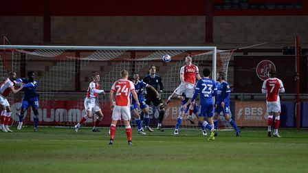 Fleetwood Town take the lead against Ipswich