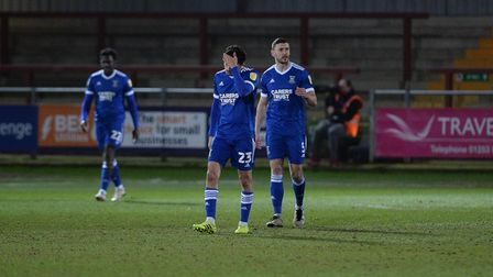 Ipswich react to going two behind at Fleetwood Town