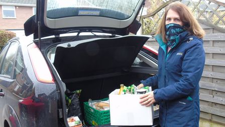 Anne Larner, from Hethersett, near Norwich, has been working withFood and Beverage Buggies.