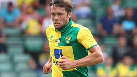Jonny Howson in action during the pre-season friendly against West Ham. Picture by Paul Chesterton/F