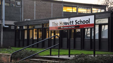 From September the school will be known as The Hewett Academy, Norwich. Picture: Denise Bradley