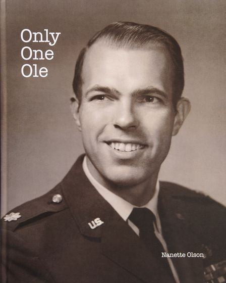 The book about American pilot Bill 'Ole' Olson who died after an aircraft collision over Norfolk in