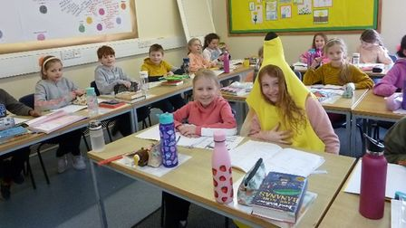 Children back at schoolfollowing the Covid-19 lockdown.