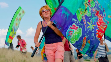 Ali Pretty, co-founder of the Beach of Dreams project, which will explore the hidden gems of the East Anglian coast