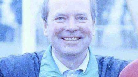 Kit Carson during his time as a youth coach at Norwich City, pictured in 1992. Photo: Archant Librar
