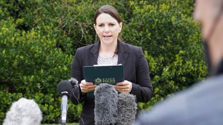 Detective Superintendent Lucy Morris of Essex Police