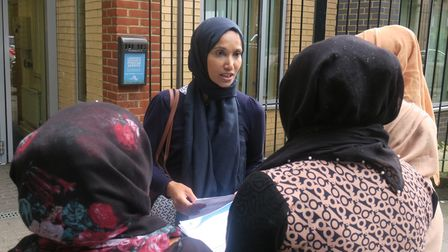 Cllr Rabina Khan... fighting for women's safety