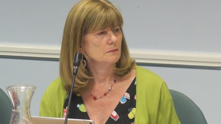 """Cllr Denise Jones... finding """"solutions for women to use public spaces"""""""