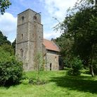 St Mary's Church at Houghton-on-the-Hill. Picture: Ian Burt