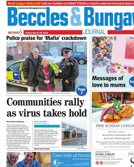 The Beccles and Bungay Journal, March 20, 2020