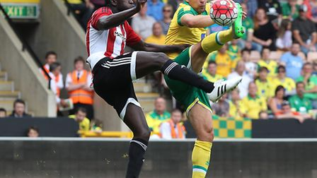 Norwich City captain Russell Martin has unfinished business with the Premier League. Picture by Paul