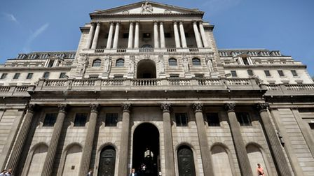 A general view of the Bank of England in London. Picture: Anthony Devlin/PA Wire