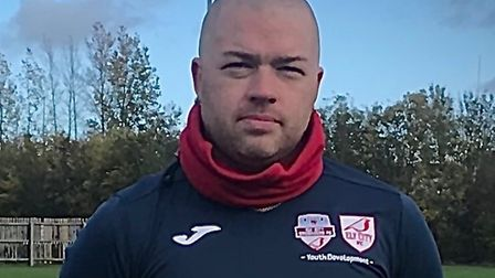 Chris Gibson Ely City Crusaders youth development coordinator