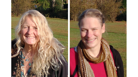Beverley Cawthera and Caroline Walshaw who have both become specialist education leaders