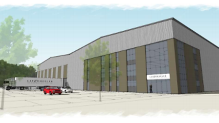 An artist's impression of the new Lay & Wheeler headquarters.