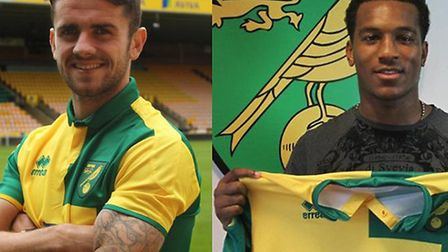 Robbie Brady (Left) and Andre Wisdom (Right)