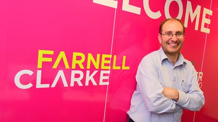 Norwich accountant Will Farnell is partner and founder of Farnell Clarke.Picture by SIMON FINLAY.