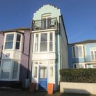 The three-storey town house is on the market for £850,000 with Flick and Son.