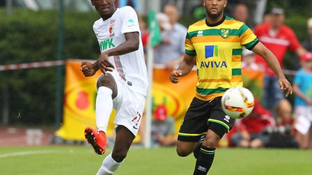 Norwich City midfielder Nathan Redmond is tipped to be a big hit in the Premier League. Picture by P