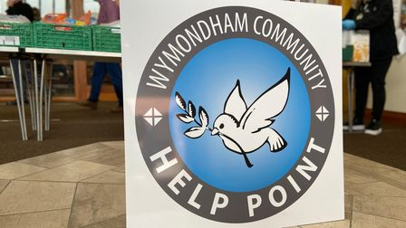 Wymondham Community Outreach Project's independent foodbank service Help Point.