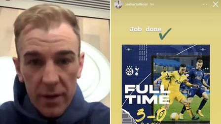 Joe Hart apologised after this social media blunder this week