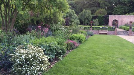 The gardens at Sheringham Hall