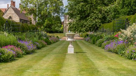 The Bishop's Garden in Norwich, which opens this year to support a number of charities including St John Ambulance
