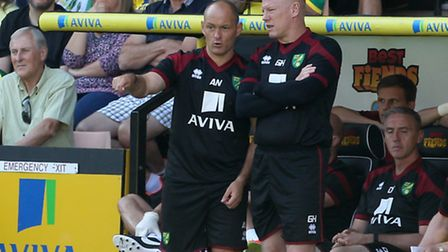 Norwich City manager Alex Neil is a fan of Stoke's re-invention. Picture by Paul Chesterton/Focus Im
