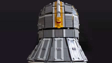 The design has been submitted to Lego Ideas, a platform that can see fan-made creations come to life