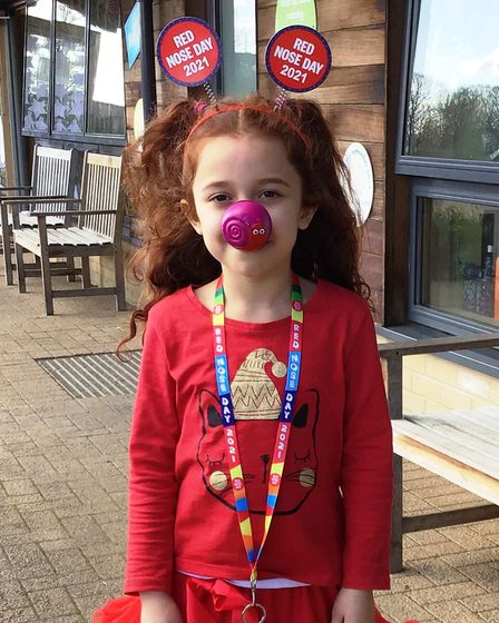Great Dunmow Primary School had a'wild' theme or dressed as someone else in return for a donation to Comic Relief.