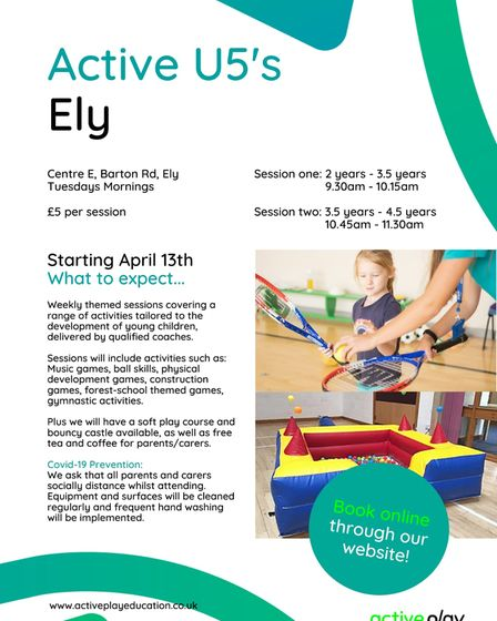 Active Under 5's Ely