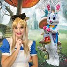 Alice and the Wonderland and the Easter Bunny