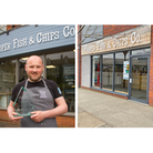 Daniel Hennesy, of Proper Fish and Chip Co, has opened a new premises in Cranbrook