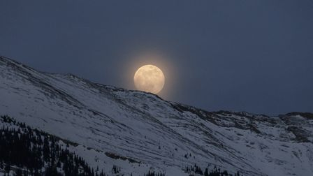 The Super Worm Moon will be visible this weekend