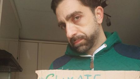 Dr Elia Valentini will go on hunger strike to protest against climate change