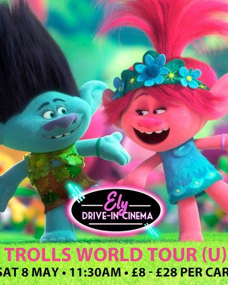 Ely Drive-In Cinema returns on May 8 with Trolls World Tour