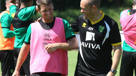 Norwich City manager Alex Neil needs no convincing of Wes Hoolahan's special brand of magic. Pictur