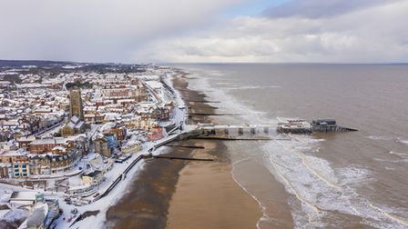 Cromer Pier, featured in Chris Taylor's video,A year on the wild North Norfolk coast - Winter.
